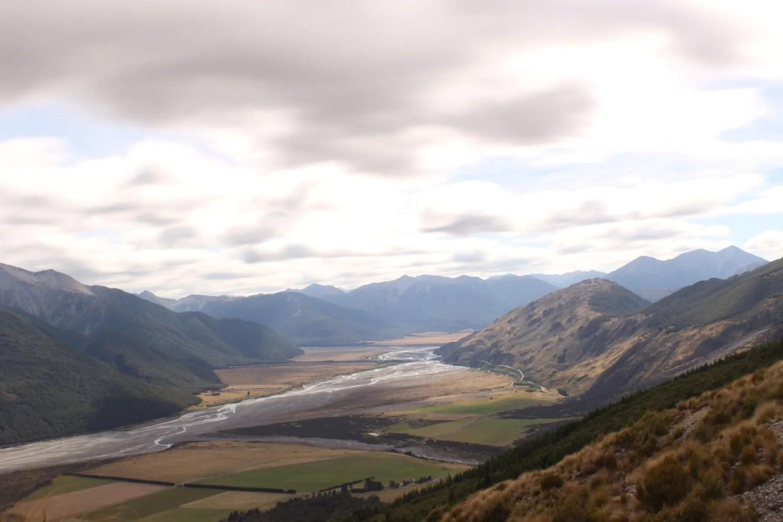 Arthurs Pass Te Araroa Neuseeland