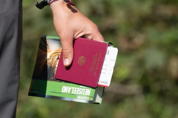 Working Holiday Visum Neuseeland beantragen Reisepass