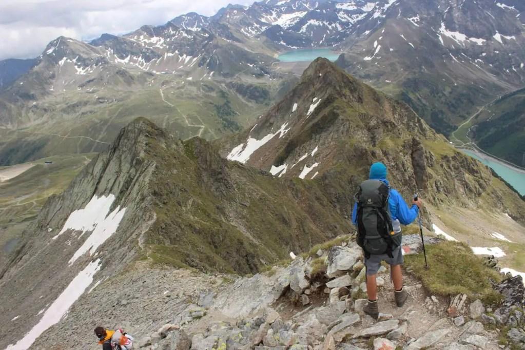 Zu Fuß über die Alpen – Eine Alpenüberquerung auf dem L1