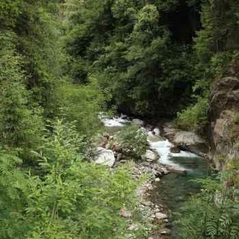 Passerschlucht Alpenüberquerung