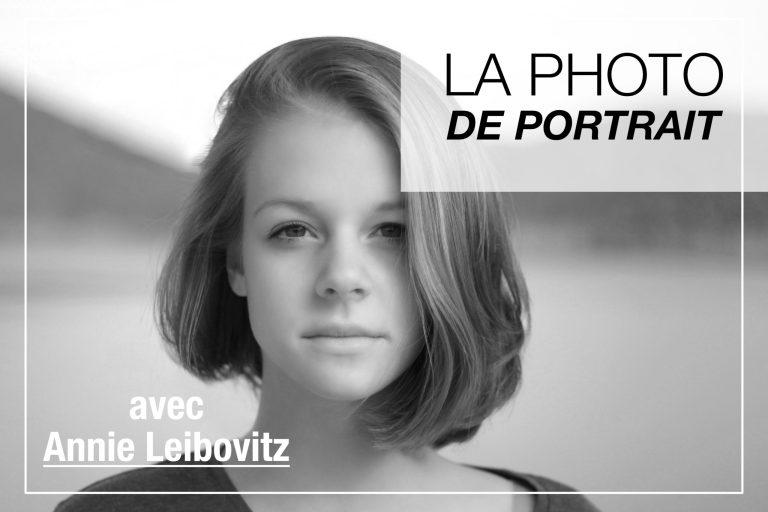 Cover Article - Photo de portrait avec Annie Leibovitz