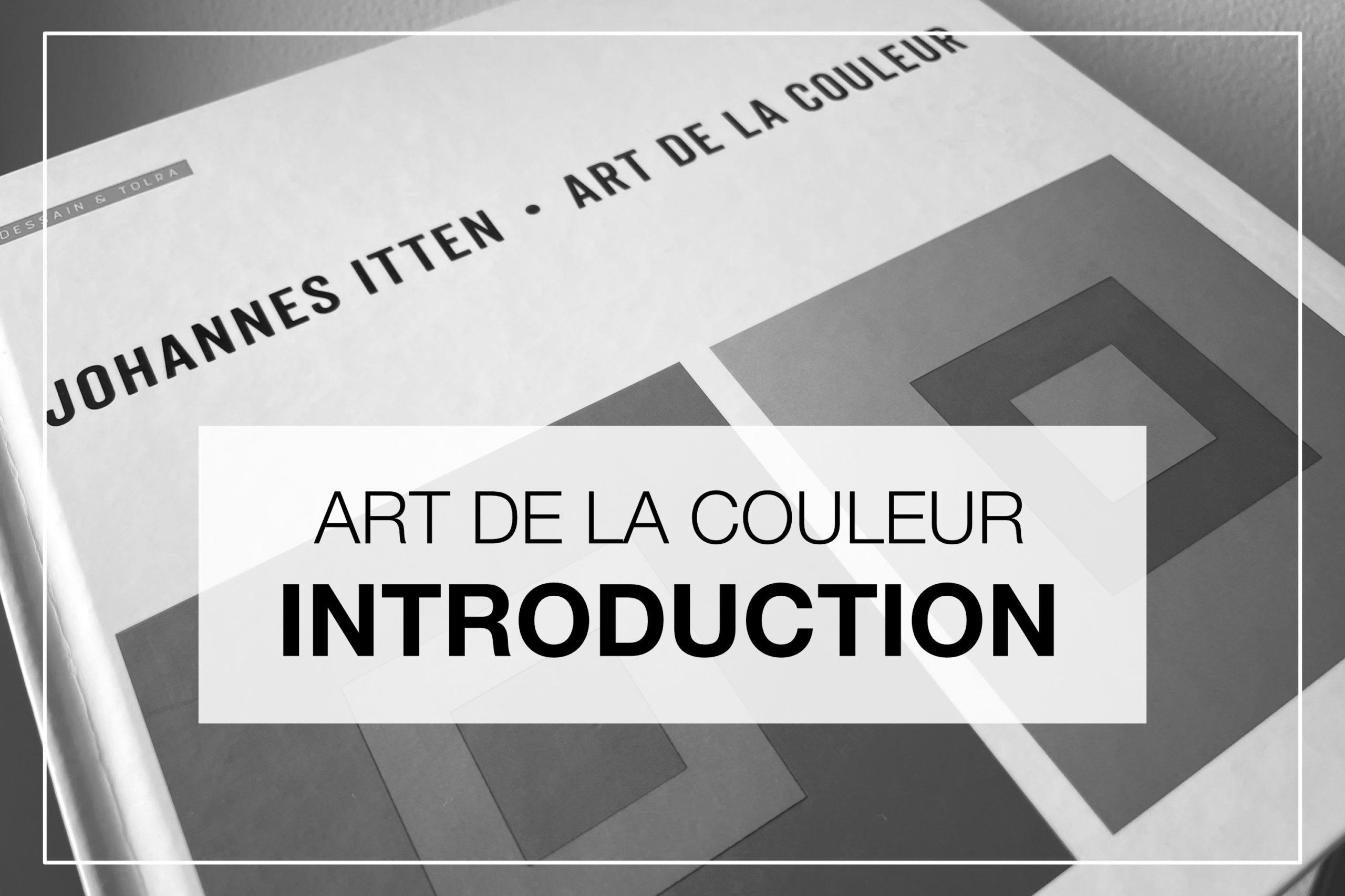 Cover Article - Art de la couleur Introduction