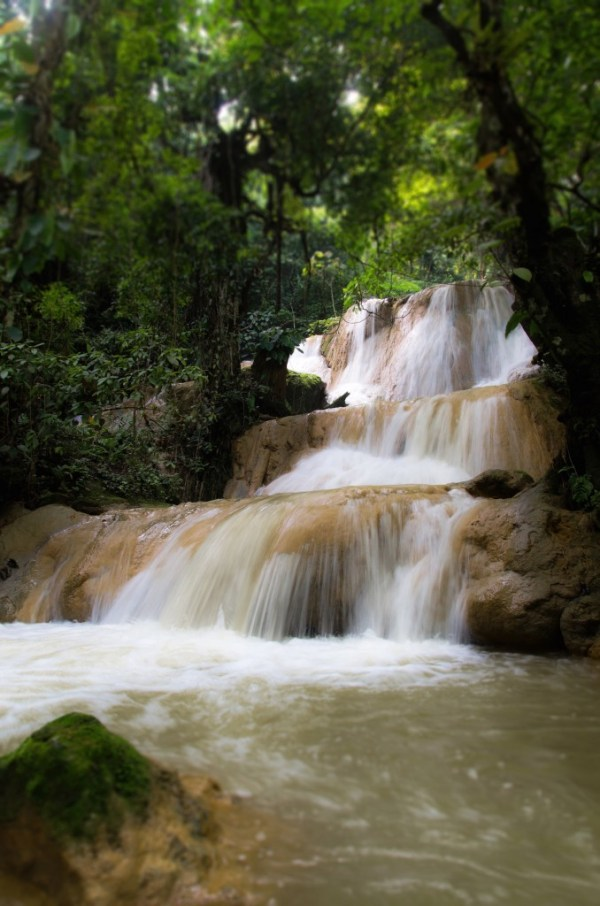 Hillside Resort Adventure Waterfall Tour Luang Prabang
