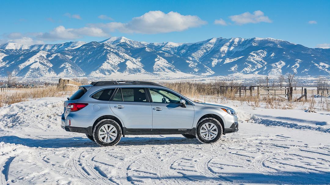 Subaru Outback Rentals Bozeman 1080--3