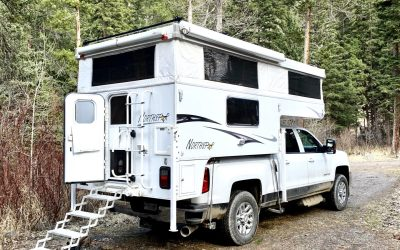 Camping On The Boulder – My First Experience In A Truck Camper
