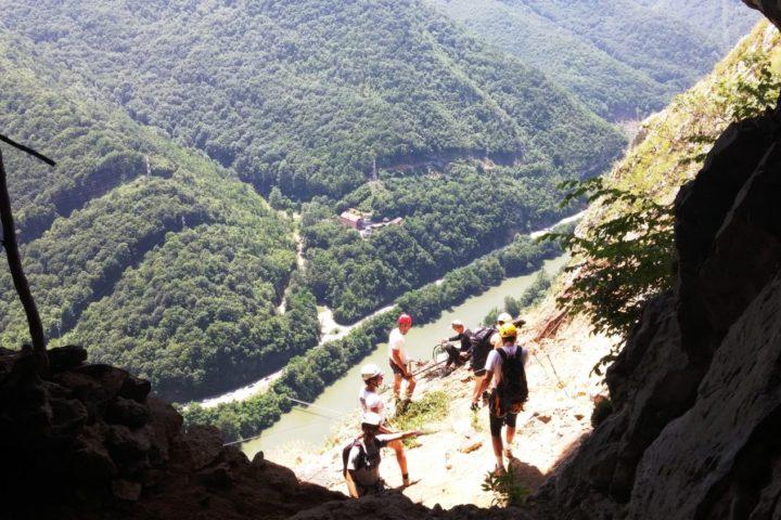 Vie ferrata Kablar, pećina Turčinovac