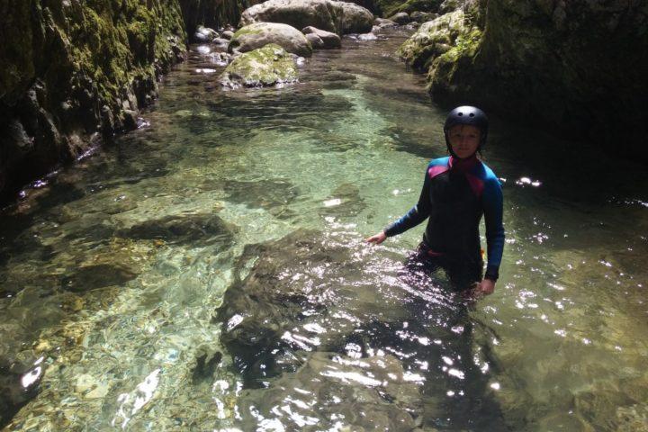 Invisible canyoning