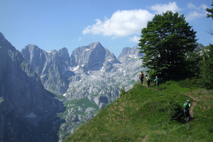 Accursed mountains