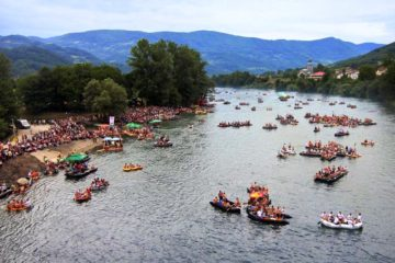 Drina regatta