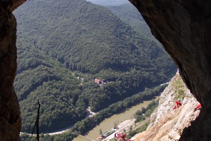 via ferrata Kablar, pećina Turčinovac