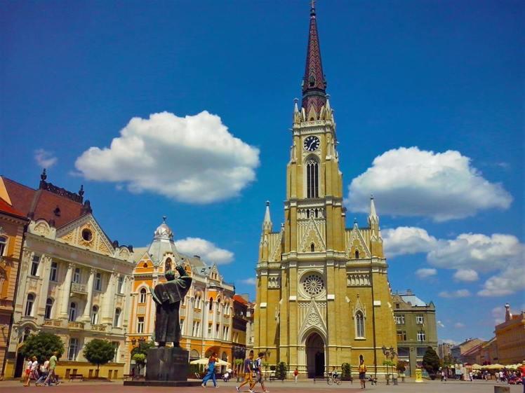The Freedom Square, Novi Sad