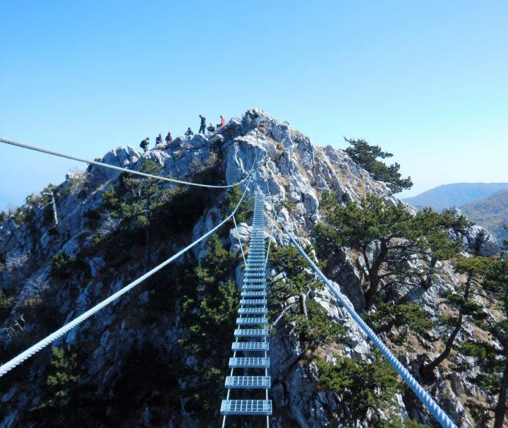 viseći most via ferrata Berim