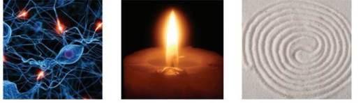 neuron candle swirl