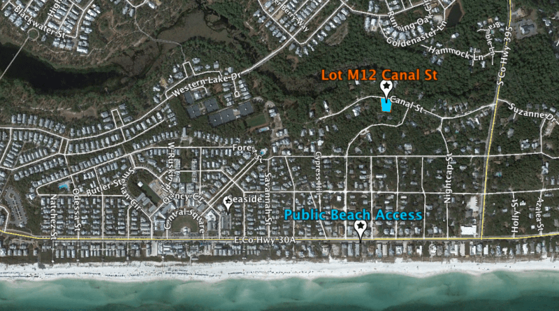 Seagrove Canal St lot