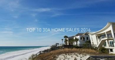 30A Top 10 home sales