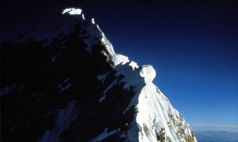 everest, summit ridge, 7 summits, robert mads anderson