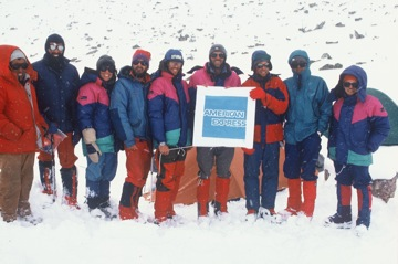 Everest Kangshung Face Team
