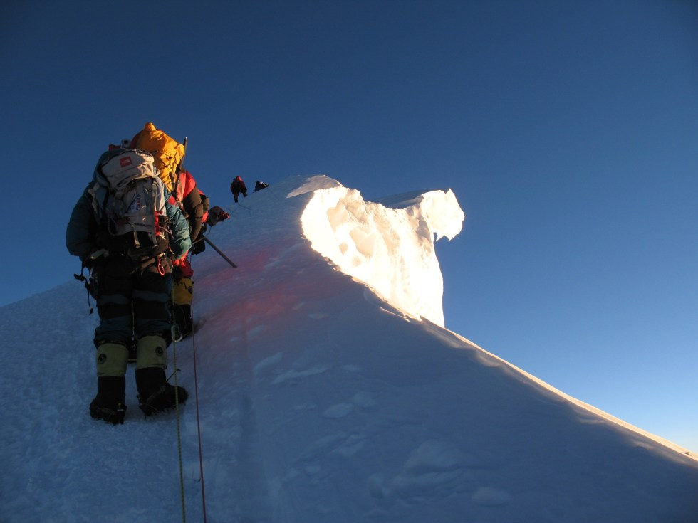 Everest, summit