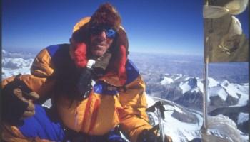 Everest, Summit, Robert Mads Anderson