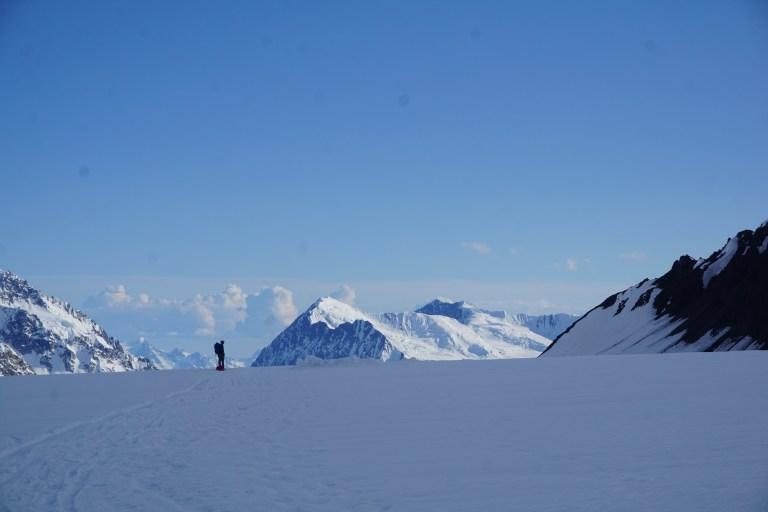Denali, skiing, Kahiltna Glacier