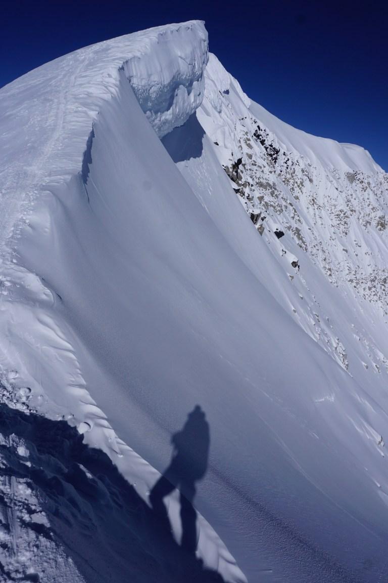Denali, summit ridge, West buttress