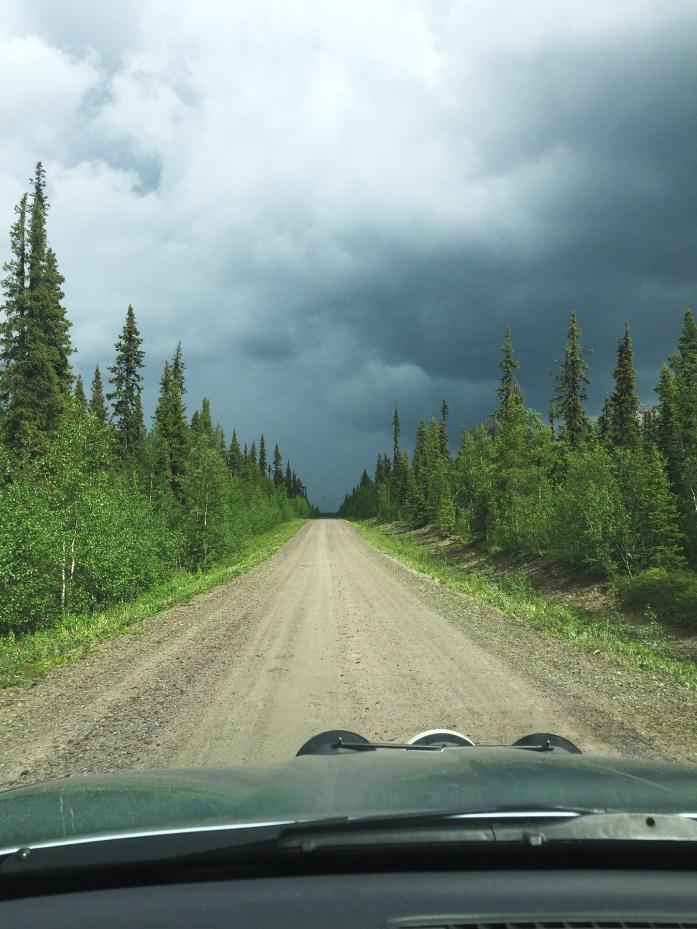 Road to Tjåmotis