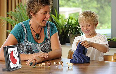 Parent & Child using Time Timer