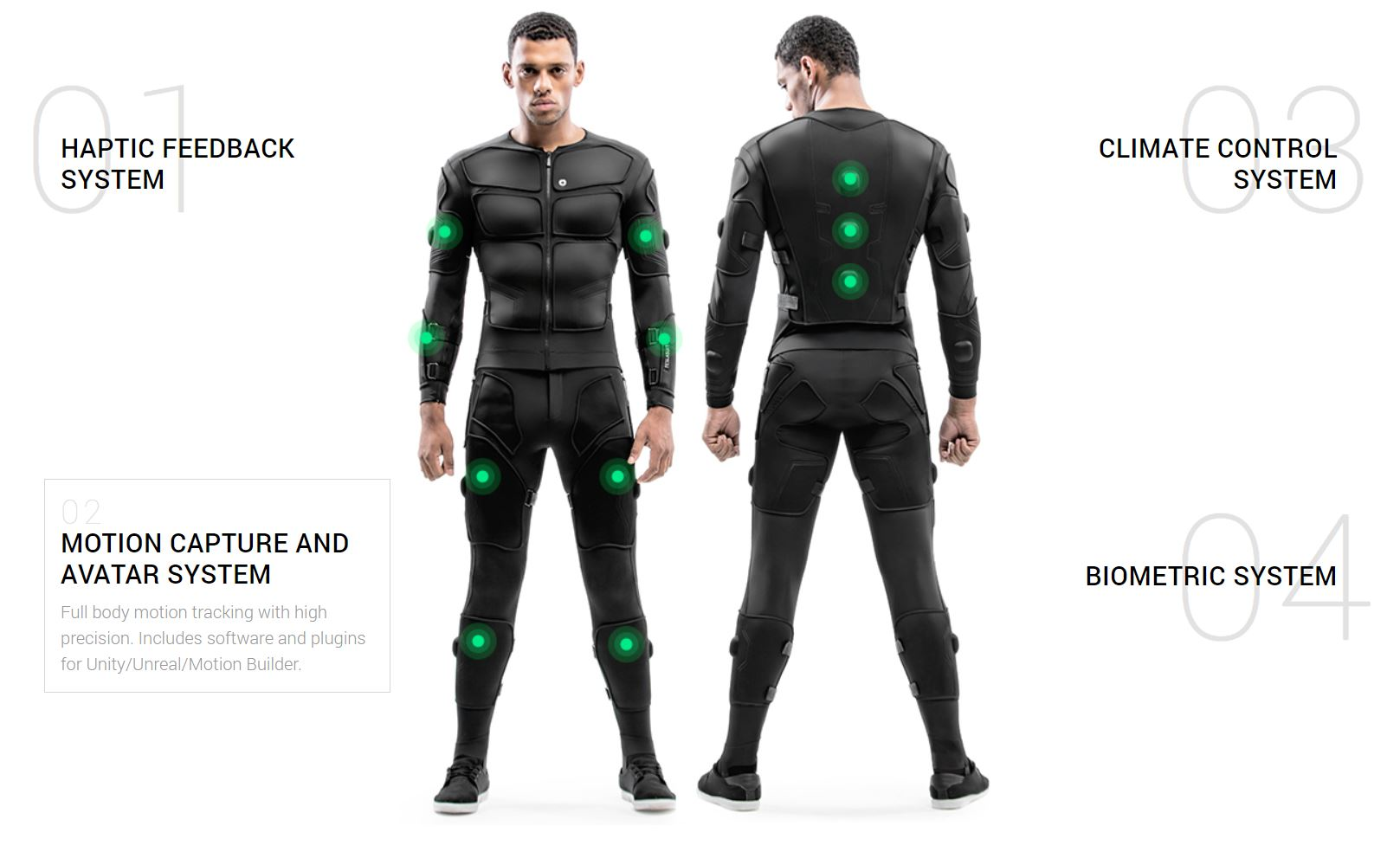 Teslasuit - A Wearable Smart Suit With Applications Beyond