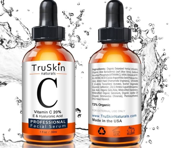 TruSkin Naturals Vitamin C Serum - Anti-Aging Products On Amazon In 2019