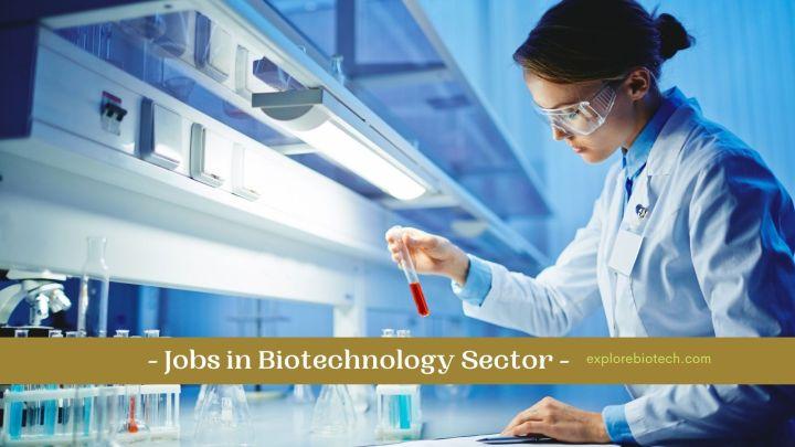 jobs in biotechnology field