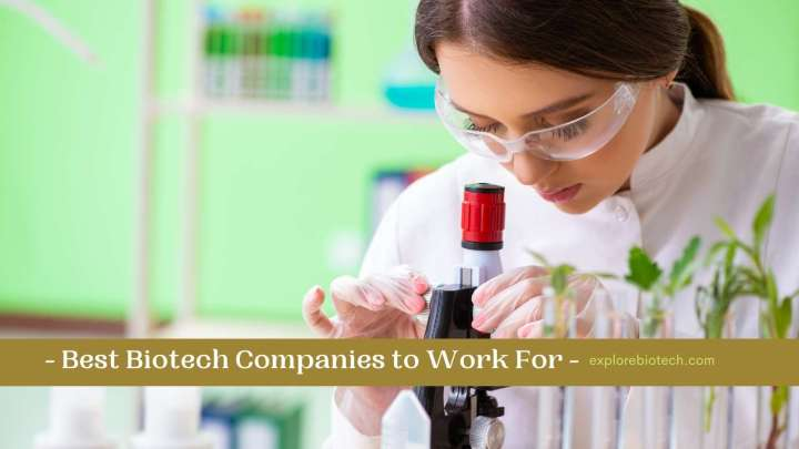 Best Biotech Companies to Work For