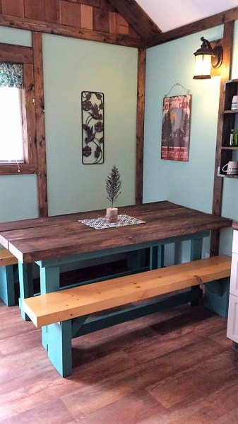 Little Spruce dining area