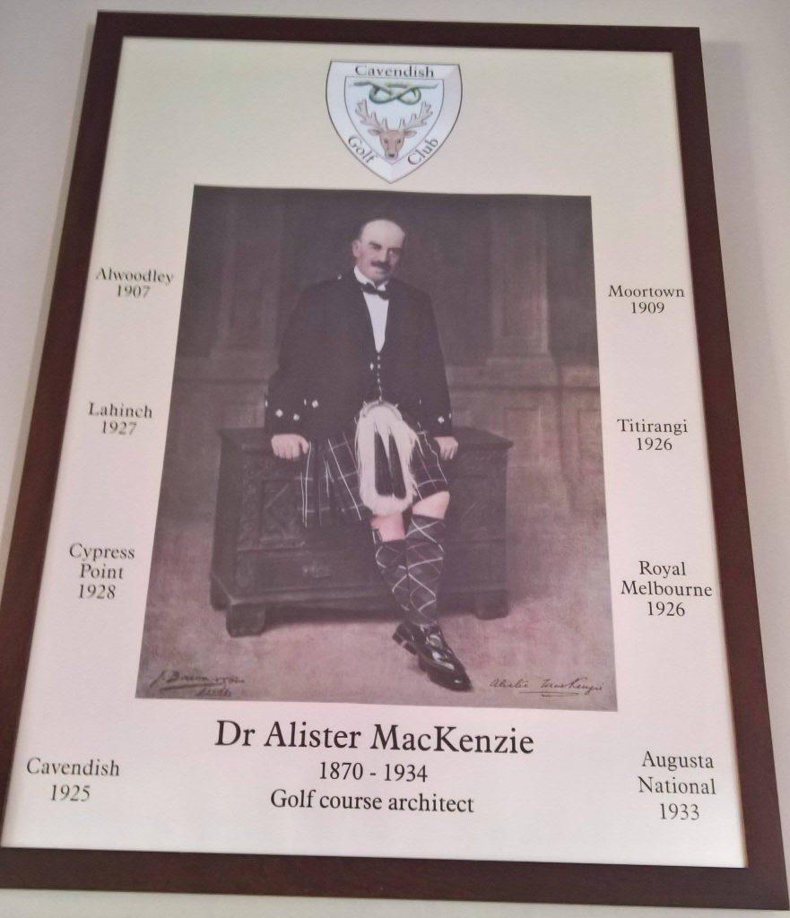 Mackenzie trail at Cavendish Golf Club in Buxton