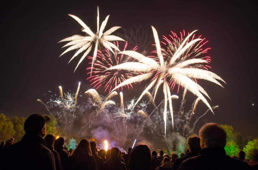 Bonfire Night Events Peak District Derbyshire