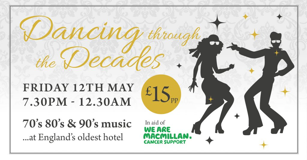 Dance Through the Decades Old Hall Hotel