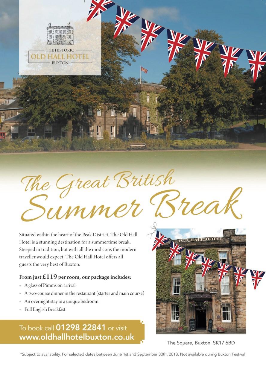 Old Hall Hotel Great British Summer Break