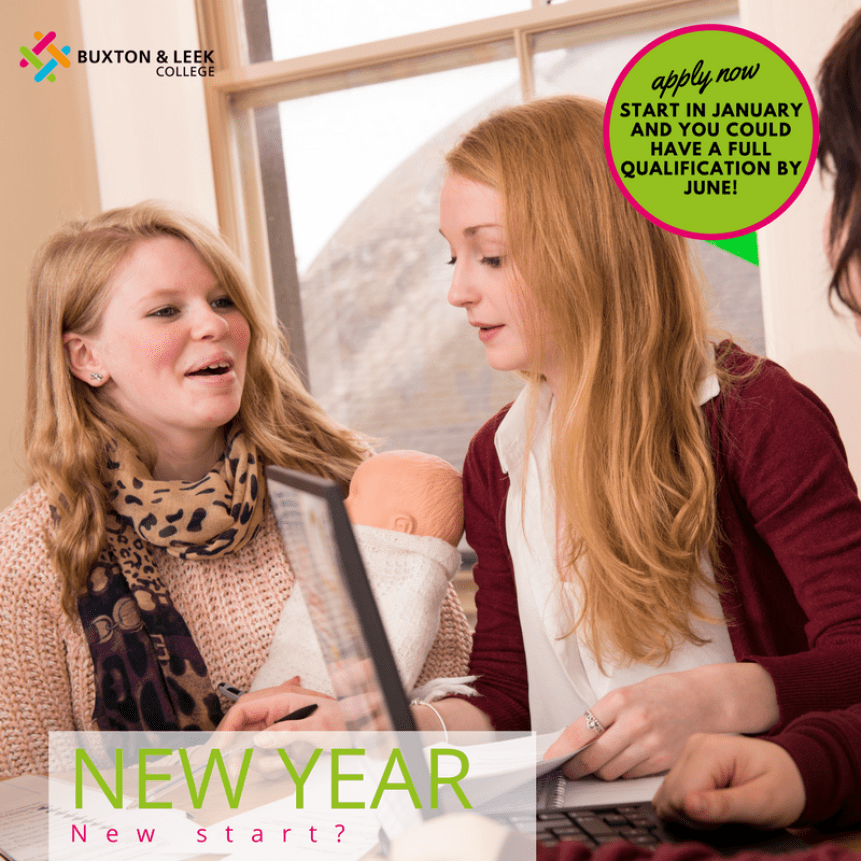 Buxton & Leek College January starts dates