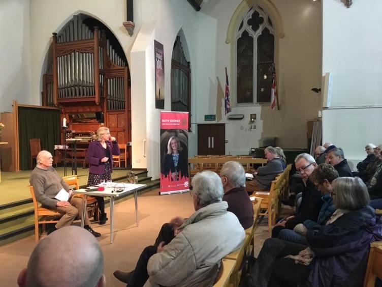 Ruth George High Peak MP
