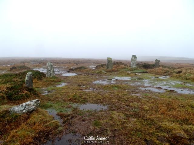 Boskednan Stone Circle