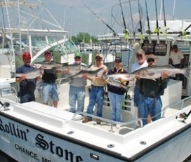 Rollin' Stone Fishing Charter with Captain DaStone