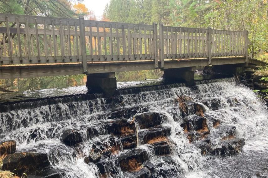 Belding WMA Falls