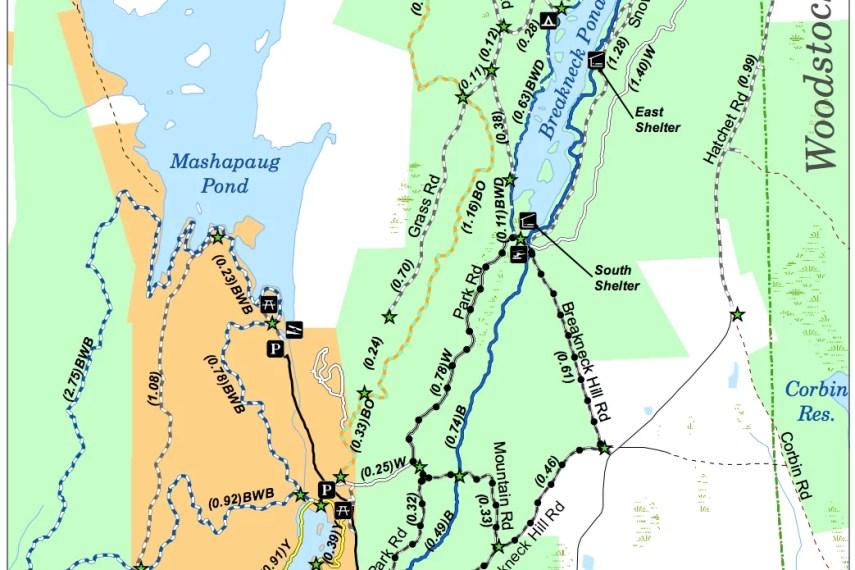 Bigelow Hollow Trail Map