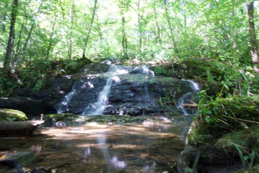 Cascade along Humaston Brook