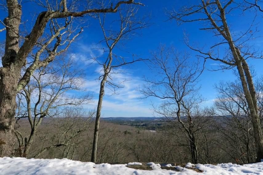 Conery Rock Overlook Winter