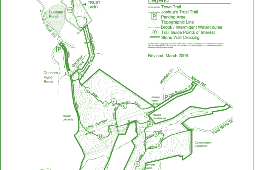Dunhamtown Forest Map
