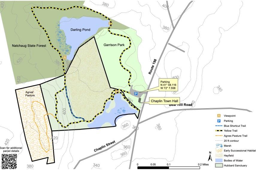 Garrison Hubbard Trail Map