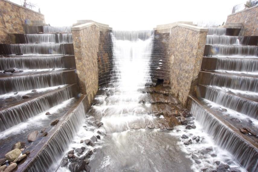 Higganum Reservoir Falls
