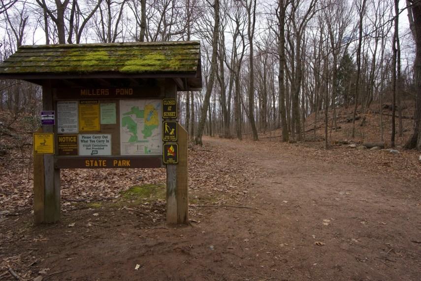 Millers Pond Trailhead
