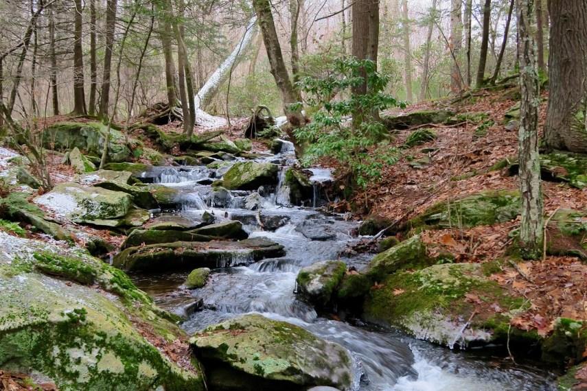 Pixie Falls in Winter