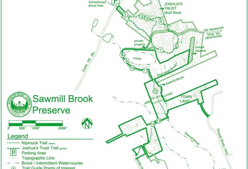 Sawmill Brook Trail Map